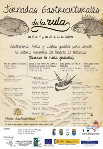Cartel Jornadas Gastroculturales De la Rula